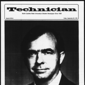 Technician, Special Edition, September 26, 1975