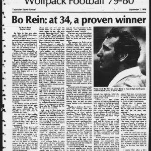 Technician, Sports Special, September 7, 1979