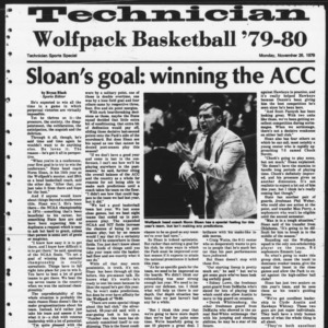 Technician, Sports Special, November 26, 1979