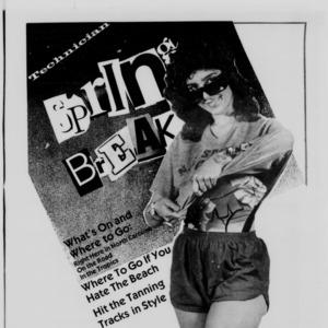 Technician, Spring Break, February 9, 1987