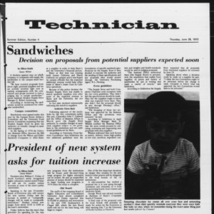Technician, Summer 1972 No. 4, June 29, 1972