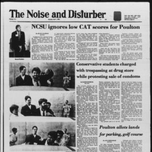 Technician: The Noise and Disturber, April 1, 1985
