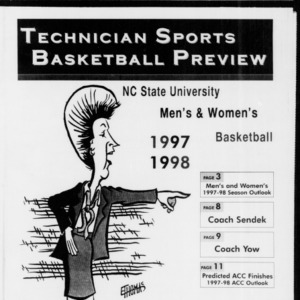 Technician Basketball Preview, November 10, 1997