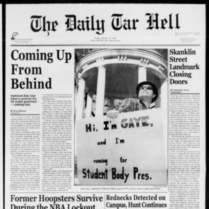 Technician: The Daily Tar Hell, January 15, 1999