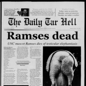 Technician: The Daily Tar Hell, January 28, 2001