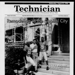 Technician Football Preview, Vol. 75 No. 4, August 31, 1994