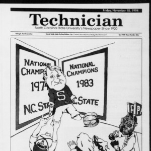 Technician mens Basketball Preview, Vol. 75 No. 36, November 18, 1994