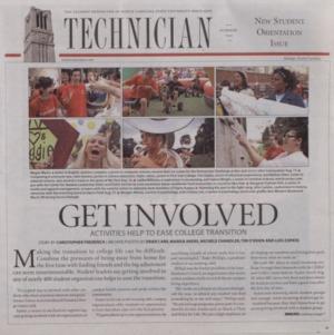 Technician, New Student Orientation Issue, Summer 2010