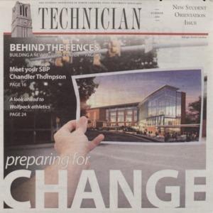 Technician, New Student Orientation Issue, Summer 2011