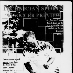 Technician Soccer Preview, Vol. 1, August 30, 1996