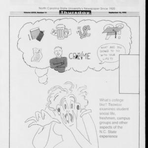 Technician Tech Too, Vol. 73 No. 11, September 10, 1992