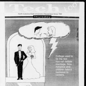 Technician Tech Too, Vol. 73 No. 25 October 1992