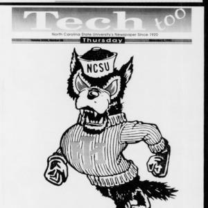 Technician Tech Too, Vol. 73 No. 38, November 5, 1992