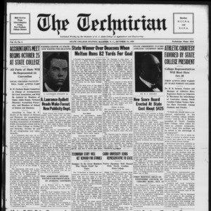 Technician, Vol. 10 No. 5, October 19, 1929