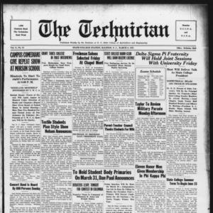 Technician, Vol. 11 No. 21, March 6, 1931