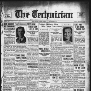 Technician, Vol. 12 No. 1, September 18, 1931