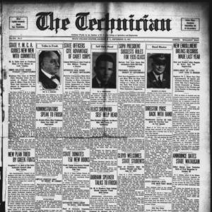 Technician, Vol. 12 No. 2, September 25, 1931