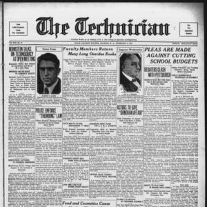Technician, Vol. 13 No. 16, February 3, 1933