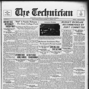 Technician, Vol. 13 No. 20, March 3, 1933