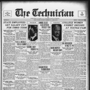 Technician, Vol. 13 No. 26, April 28, 1933