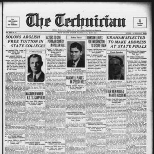 Technician, Vol. 13 No. 27, May 5, 1933