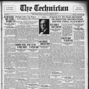 Technician, Vol. 15 No. 15, February 1, 1935