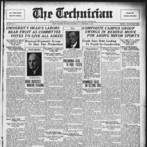 Technician, Vol. 15 No. 17, February 15, 1935