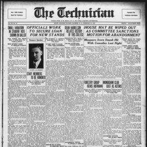 Technician, Vol. 15 No. 18, February 22, 1935