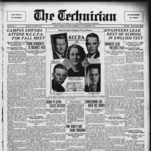 Technician, Vol. 15 No. 7, November 9, 1934