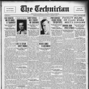Technician, Vol. 16 No. 12, January 10, 1936
