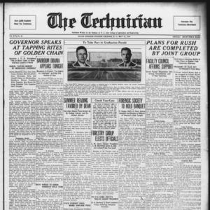 Technician, Vol. 16 No. 28, May 22, 1936