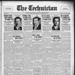 Technician, Vol. 17 No. 2, September 25, 1936