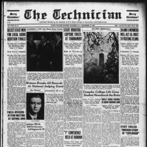 Technician, Vol. 18 No. 13, December 10, 1937
