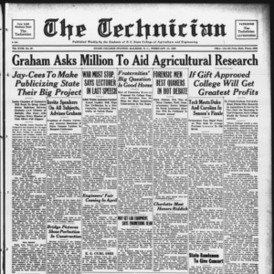 Technician, Vol. 18 No. 20, February 18, 1938