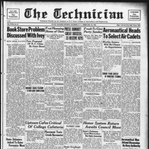 Technician, Vol. 18 No. 21, February 25, 1938