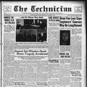 Technician, Vol. 18 No. 23, March 11, 1938
