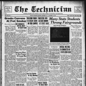 Technician, Vol. 18 No. 5, October 15, 1937