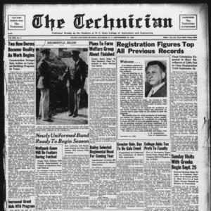 Technician, Vol. 19 No. 1, September 16, 1938