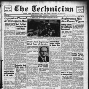 Technician, Vol. 19 No. 13, January 6, 1939