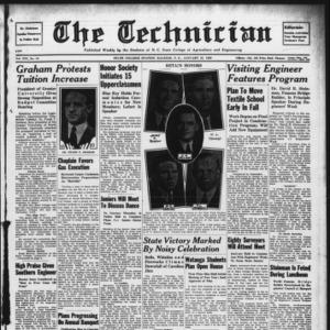 Technician, Vol. 19 No. 16, January 27, 1939