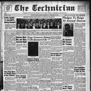 Technician, Vol. 19 No. 20, September 24, 1939