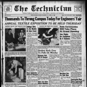 Technician, Vol. 19 No. 25, April 14, 1939