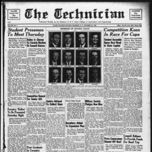 Technician, Vol. 19 No. 7, October 28, 1938
