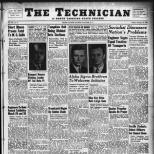 Technician, Vol. 20 No. 17, February 2, 1940