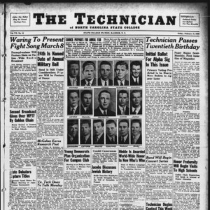 Technician, Vol. 20 No. 18, February 9, 1940