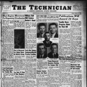 Technician, Vol. 20 No. 19, February 16, 1940