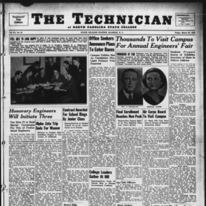 Technician, Vol. 20 No. 23, March 29, 1940