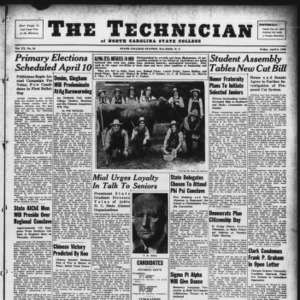 Technician, Vol. 20 No. 24, April 5, 1940