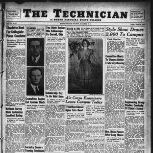 Technician, Vol. 20 No. 27, April 26, 1940