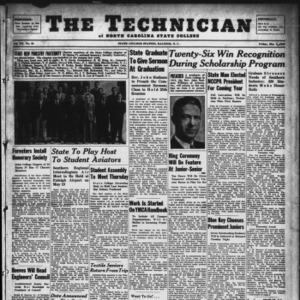 Technician, Vol. 20 No. 28, May 3, 1940